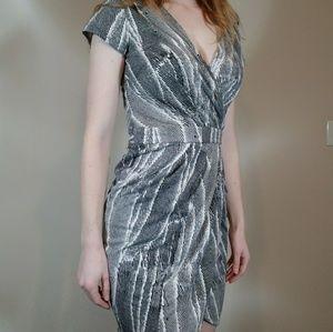 Banana Republic Printed Wrap Dress